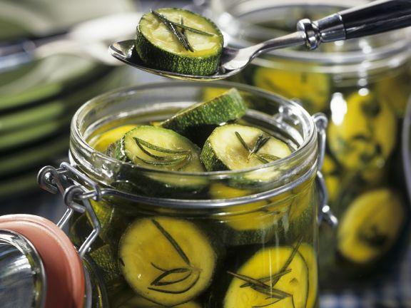 Herb Marinated Zucchini