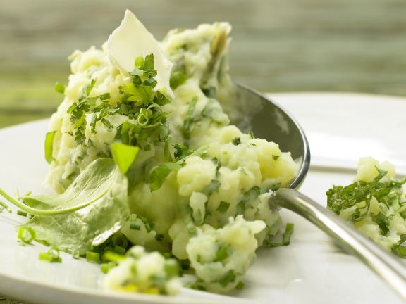 Smarter Herb Mashed Potatoes