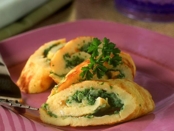 Herbed Omelette Rolls
