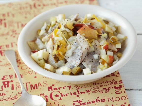 Herring Salad with Apple and Lemon Dressing