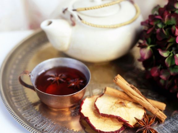 Hibiscus Tea with Spices