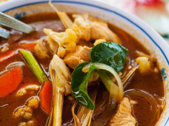 Hot and Sour Thai Broth