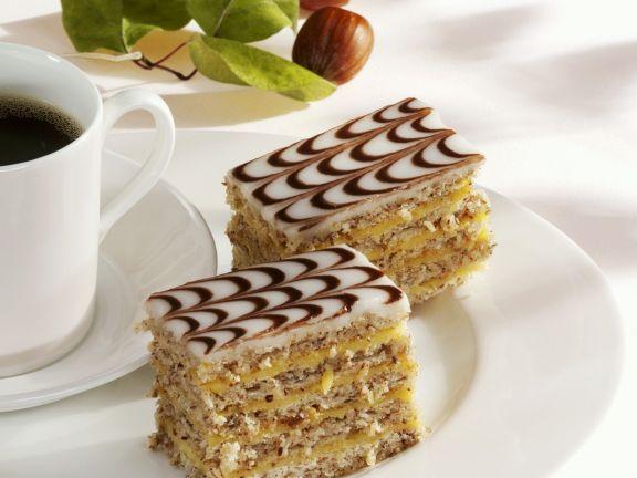 Hungarian Esterhazy Nut Torte
