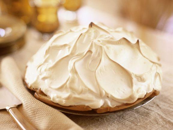 Ice Cream Meringue Dessert
