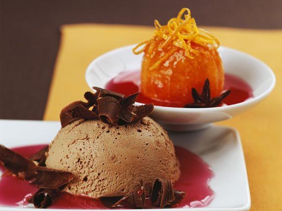Iced Chocolate Souffle