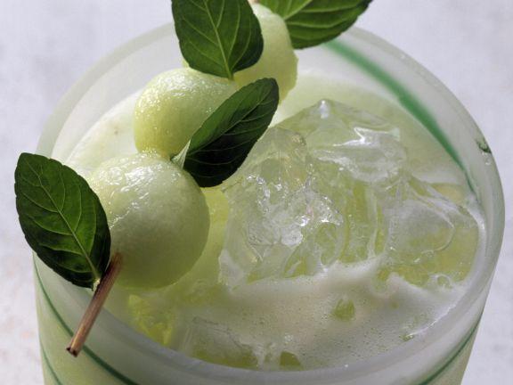 Iced Melon Mocktail