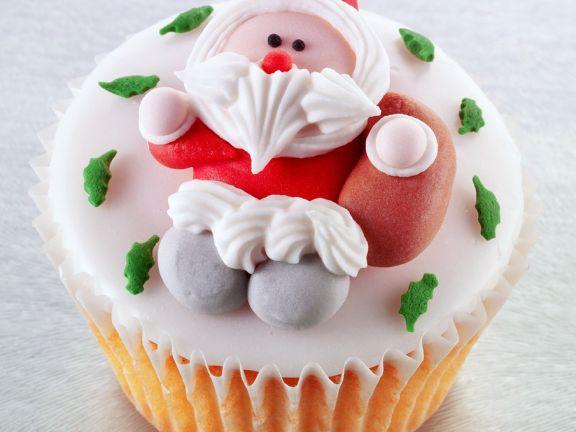 Iced Santa Cakes