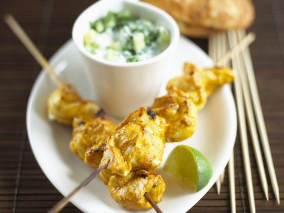 Indian Chicken Brochettes