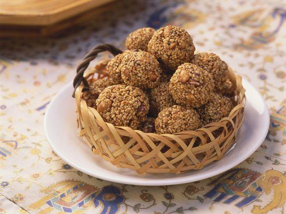 Indian Sesame Balls