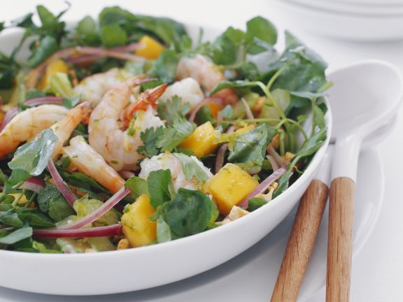Indian-style Shrimp Salad