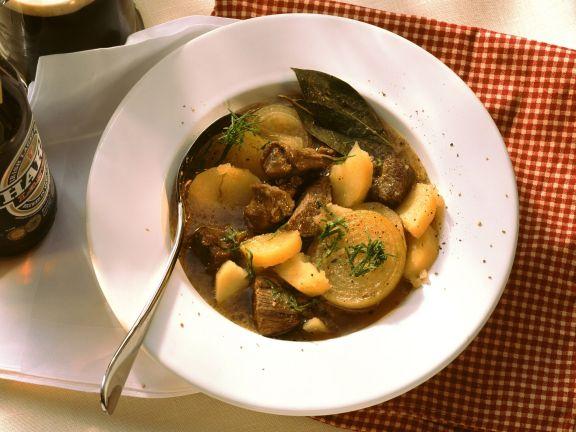 Simple Meat and Potato Casserole