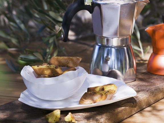 Italian Almond Biscuits with Coffee