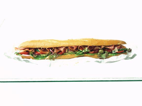 Italian Baguette Sandwich