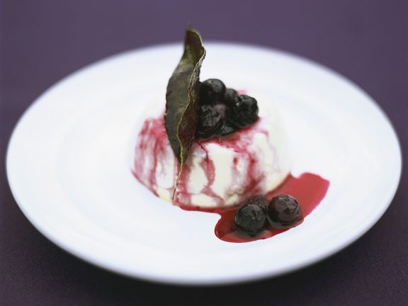 Italian Blueberry Pudding