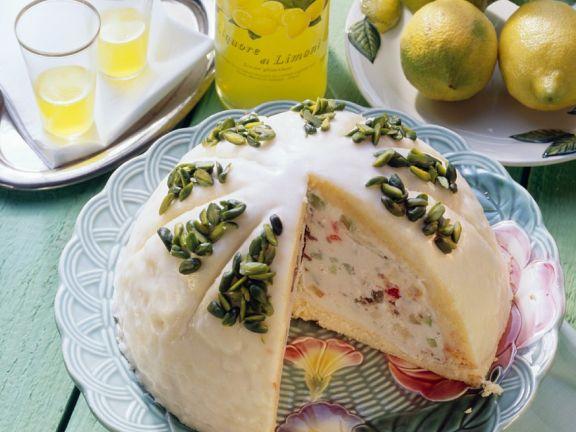 Italian Cassata Ice Cream Cake
