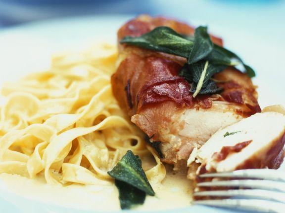 Italian Style Chicken Saltimbocca
