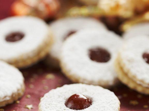 Jam Sandwich Cookies
