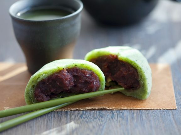 Japanese Green Tea Mochi