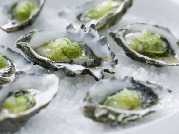 Japanese-style oysters
