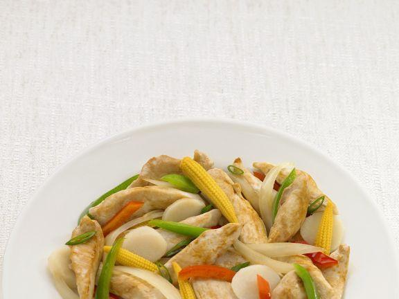 Jewish Chicken Wok-fry
