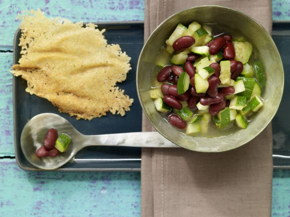 Kidney Bean and Zucchini Soup