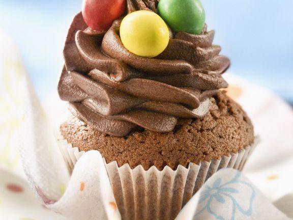 Kids' Bake-it-yourself Choc Nut Cakes