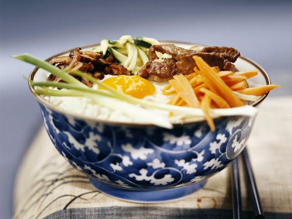 Korean Beef and Rice Bowl