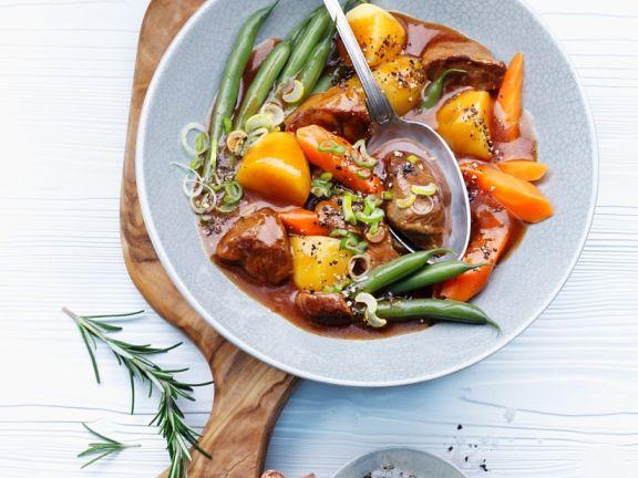 Lamb and Mixed Veg Casserole