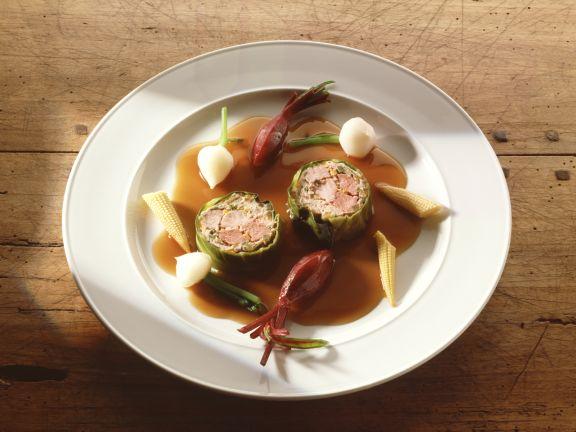 Lamb and Pork Roll