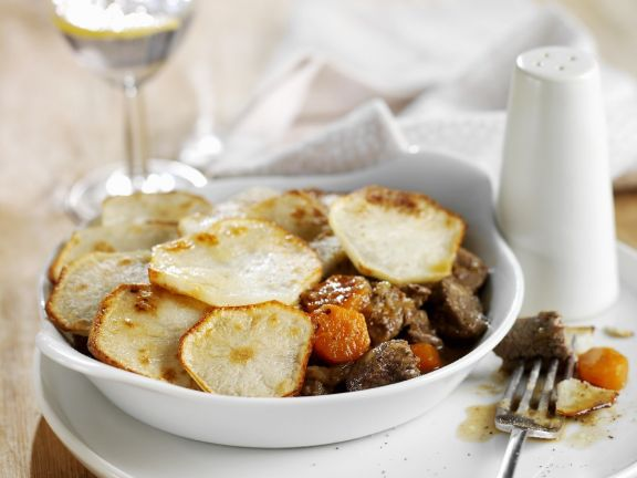 Lamb and Potato Gratin