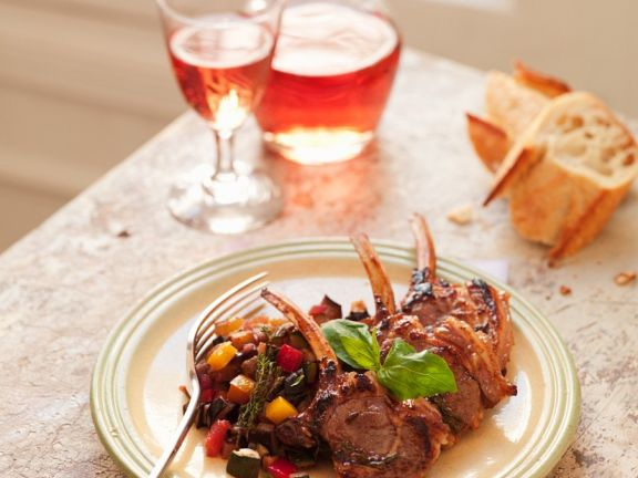 Lamb Chops with Vegetables