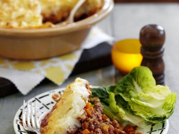 Lamb Mince Pie with Mash Topping