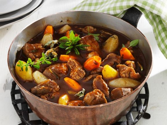 Lamb Stew and Vegetables