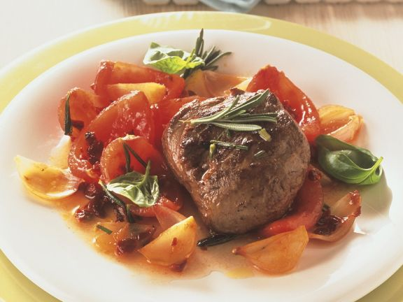 Lamb with Tomatoes