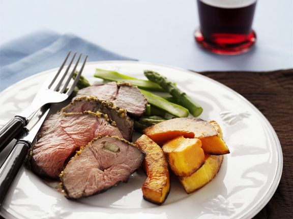 Lamb with Winter Squash