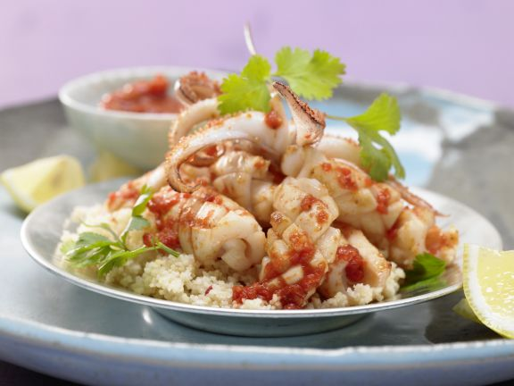 Lebanese-Style Calamari