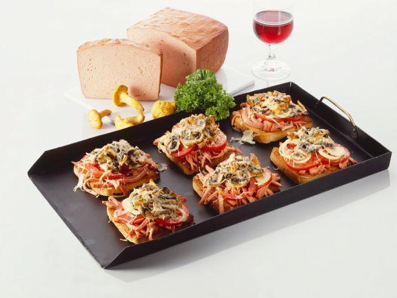 Gourmet Pate Crostini