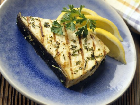 Lemon and Rosemary with Halibut