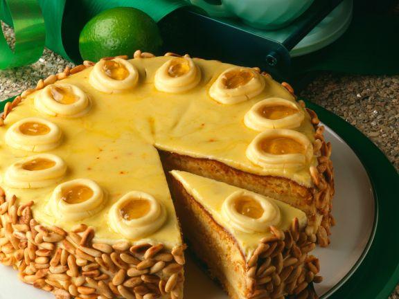 Lemon Buttercream Torte