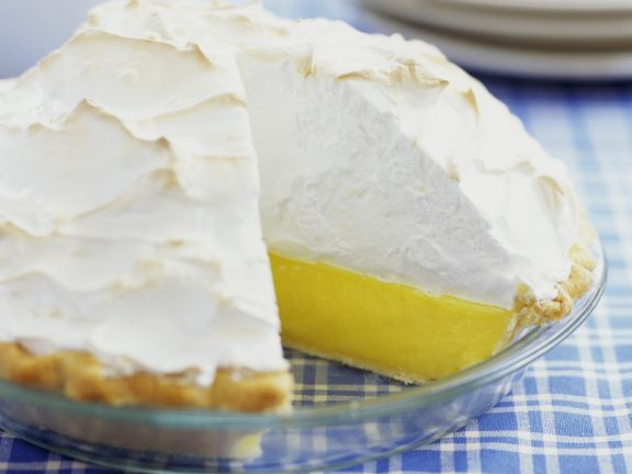 Lemon Tart with Meringue Topping