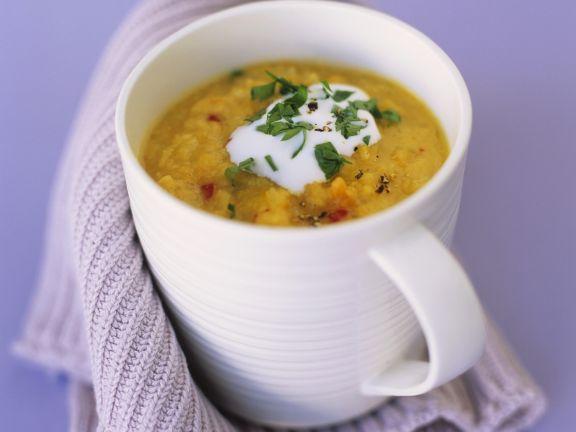 Lentil-Carrot Soup