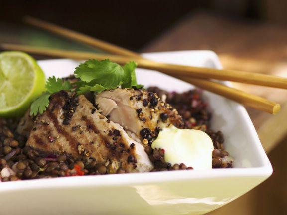 Lentil Salad with Tuna