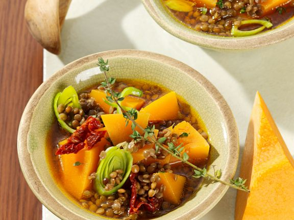 Lentils and Pumpkin Stew