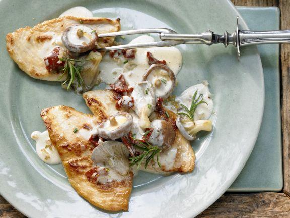 Light Italian Chicken Cutlets