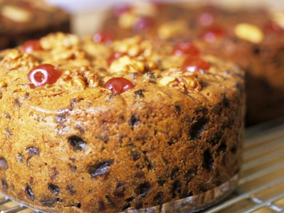 Lighter Fruit and Nut Cake