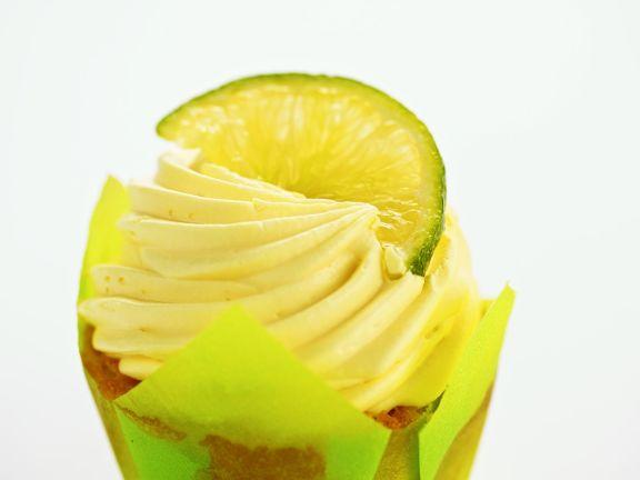 Lime Buttercream Muffins