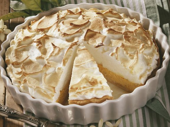 Lime meringue pie (Key Lime Pie)