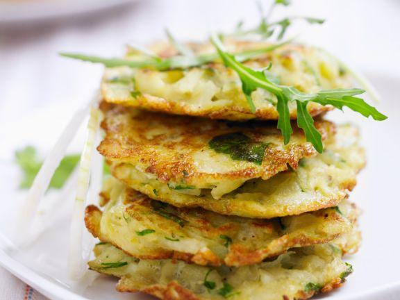 Low Fat Tarragon Potato Cakes