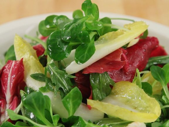 Making Mixed Salad