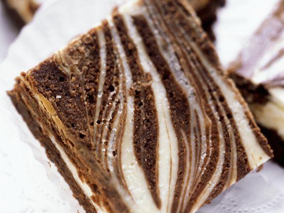 Marbled Brownie Cheesecake Squares